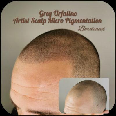 Greg Urfalino artist smp bordeaux #tricopigmentation #smpbordeaux